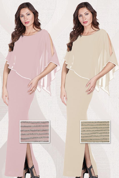 Frank Lyman 179257 new colours Blush and Beige